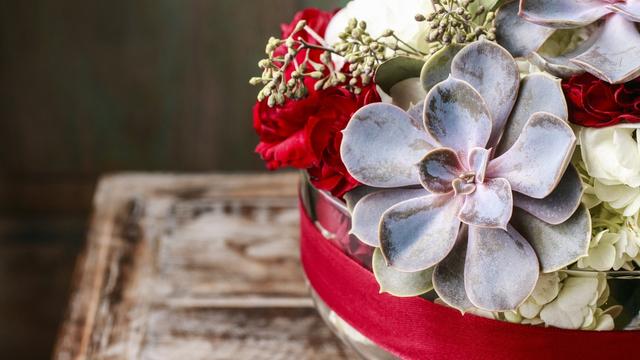 Kerststukje Sels Evergreen