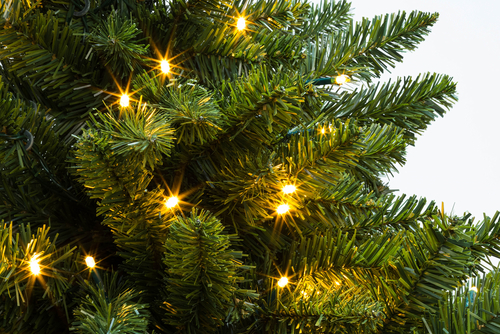 Kunstkerstboom met verlichting - Sels Evergreen